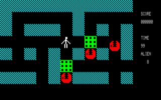 BUG FIRE! (PC-8001)(1981)(Kogakusha)